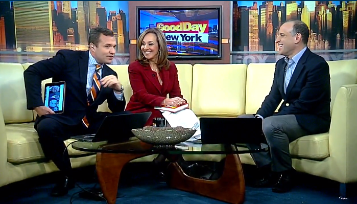 Mike Berland on Good Day New York Discussing his new book Become a Fat-Burning Machine