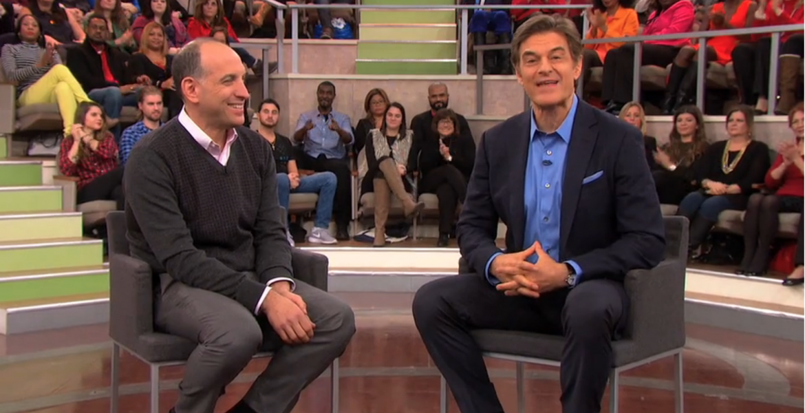 Mike Berland appears with Dr. Oz