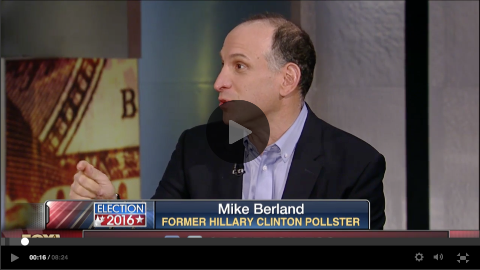Political Strategist Mike Berland and former RNC Communications Director Doug Heye on the 2016 presidential race.